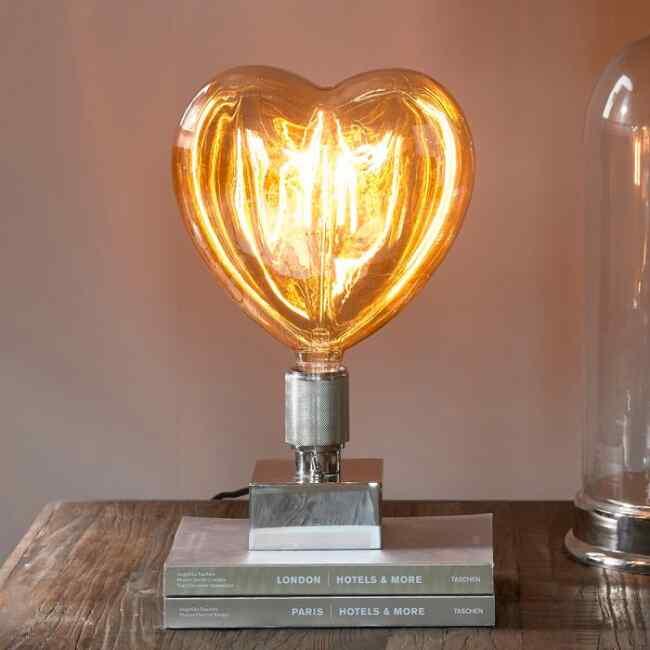 Glühbirne Herz